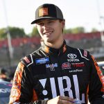 Front Row Motorsports will compete in the NASCAR Gander RV & Outdoors Truck Series this year with Todd Gilliland as the team's driver. (Toyota Photo)