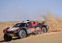 Mathieu Serradori won his first Dakar Rally stage on Monday. (Dakar Rally Photo)