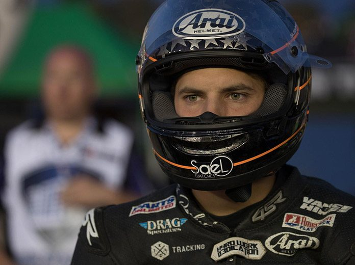 James Rispoli will drive for Latus Motors Racing in the AFT Production Twins class this year. (Scott Hunter/AFT Photo)