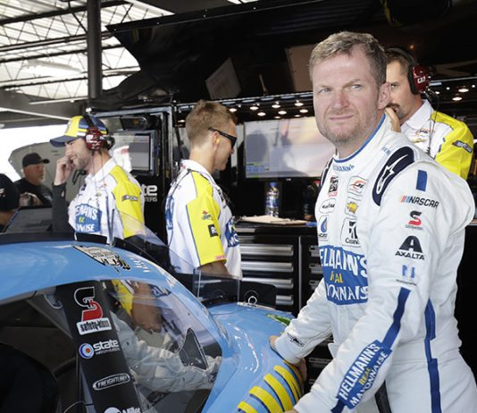Dale Earnhardt Jr. will compete at Homestead-Miami Speedway in March. (HHP/Harold Hinson Photo)