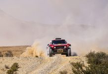 Stephane Peterhansel won Tuesday's Dakar Rally stage. (Dakar Rally Photo)