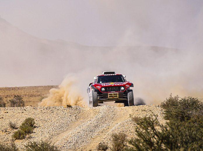 Stephane Peterhansel won Tuesday's Dakar Rally stage. (Dakar Rally Photo)
