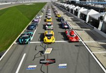 The field for last year's Rolex 24 At Daytona. (IMSA photo)
