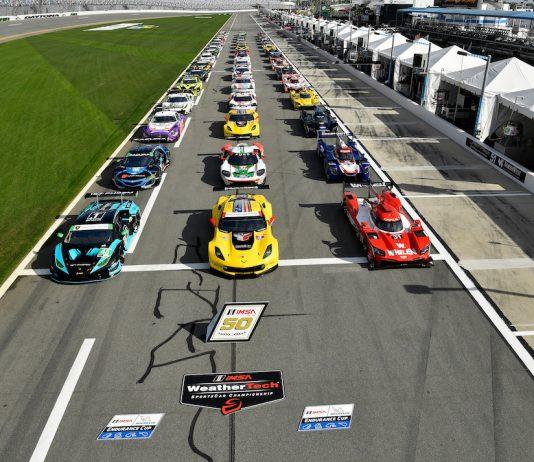 The field for last year's Rolex 24 At Daytona. (IMSA photo)
