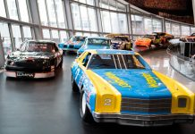 The new Glory Road exhibit at the NASCAR Hall of Fame. (NASCAR Hall of Fame photo)