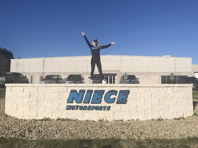 Natalie Decker will run a partial NASCAR Gander RV & Outdoors Truck Series schedule this year for Niece Motorsports.