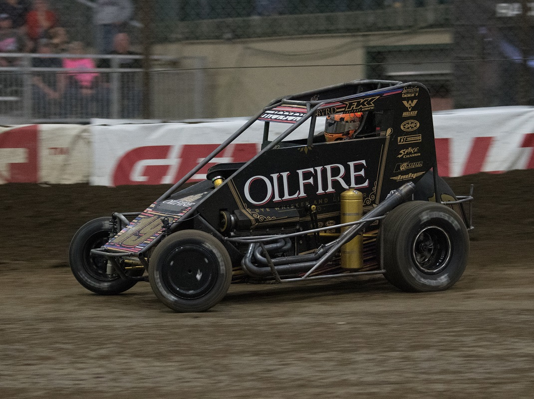 No. 1 Seed In Chili Bowl Pole Dash Is Thorson's
