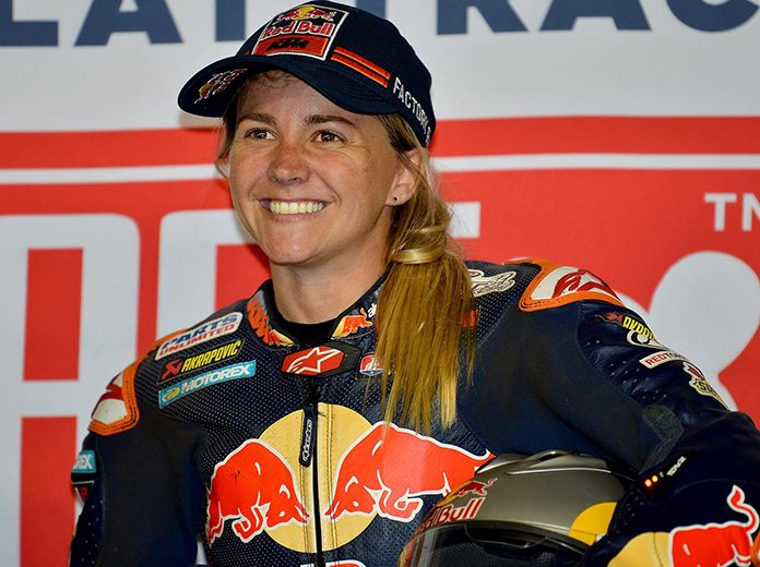 Shayna Texter has agreed to a two-year contract extension with the Red Bull KTM team.
