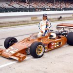 Bubby Jones at Indianapolis Motor Speedway in 1977. (IMS Photo)