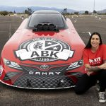ROKiT Phones and ABK Beer will back Alexis DeJoria in her return to the NHRA Mello Yello Drag Racing Series.