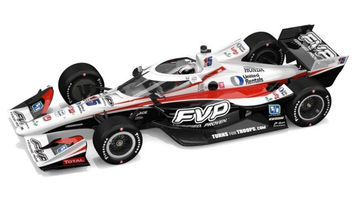 FVP will serve as a primary sponsor of Graham Rahal in one NTT IndyCar Series event this year.