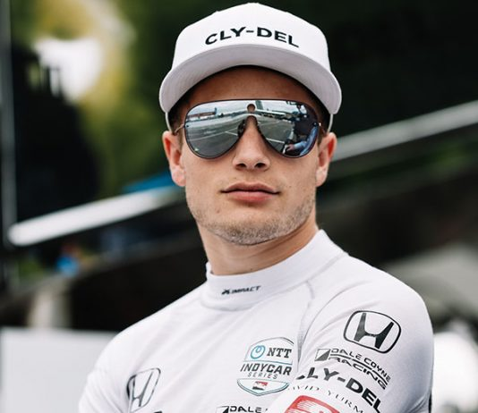 Santino Ferrucci will drive the No. 18 SealMaster entry for Dale Coyne Racing and Vasser-Sullivan Racing in the NTT IndyCar Series. (IndyCar Photo)