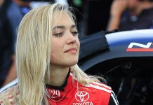 Natalie Decker will drive for Ken Schrader Racing and FURY Race Cars during the ARCA Menards Series opener at Daytona Int'l Speedway. (HHP/Jeff Fluharty Photo)