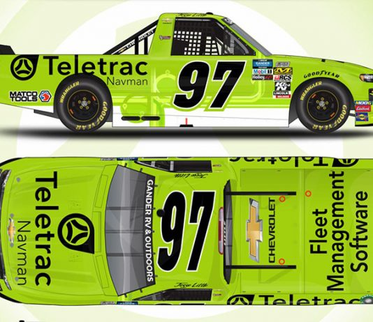 Teletrac Navman will back Diversified Motorsports Enterprises during six NASCAR Gander RV & Outdoors Truck Series events.