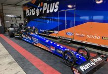 Clay Millican's Top Fuel dragster will have a new look this year.