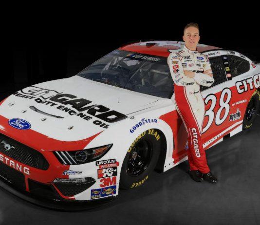 CITGARD will back John Hunter Nemechek in five Cup Series races this year.