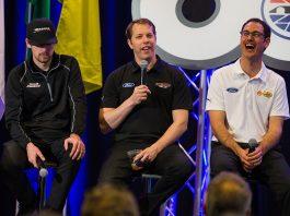 January 27, 2020: Team Penske presser at Charlotte Motor Speedway in Concord, NC. (HHP/Chris Owens)