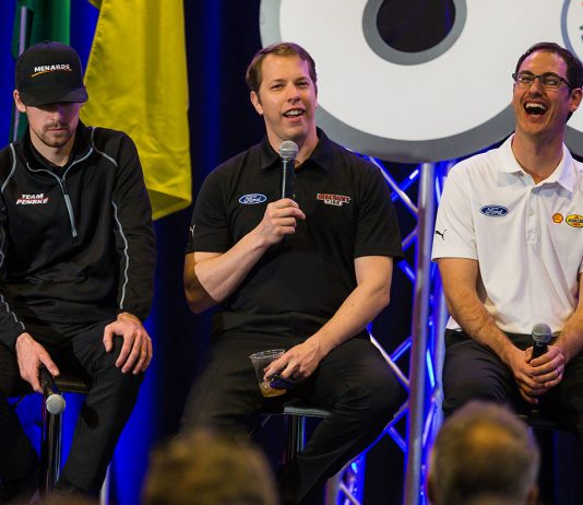 January 27, 2020: Team Penske presser at Charlotte Motor Speedway in Concord, NC. (HHP/Chris Owens)