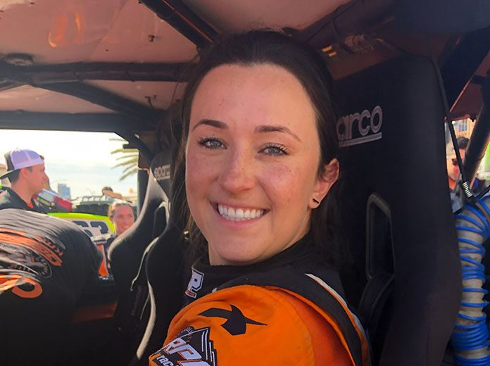 Sara Price will receive sponsorship from VP Racing Fuels beginning this year.