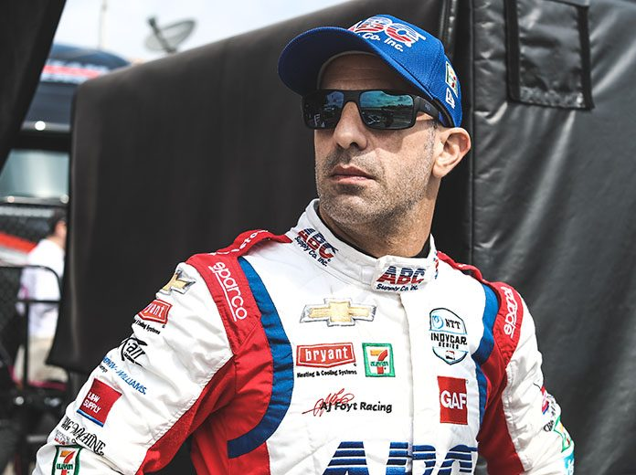 Tony Kanaan will compete in five NTT IndyCar Series oval events this year as he wraps up his full-time racing career. (IndyCar Photo)