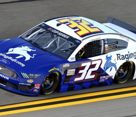 Corey LaJoie will have sponsorship from RagingBull.com during the Daytona 500.