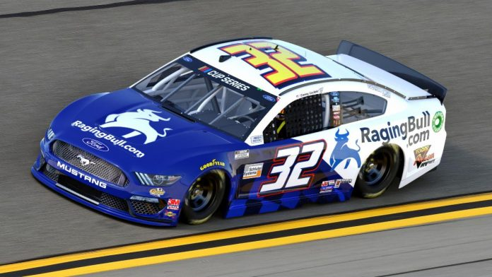 Corey LaJoie will have sponsorship from RagingBull.com during the Daytona 500.