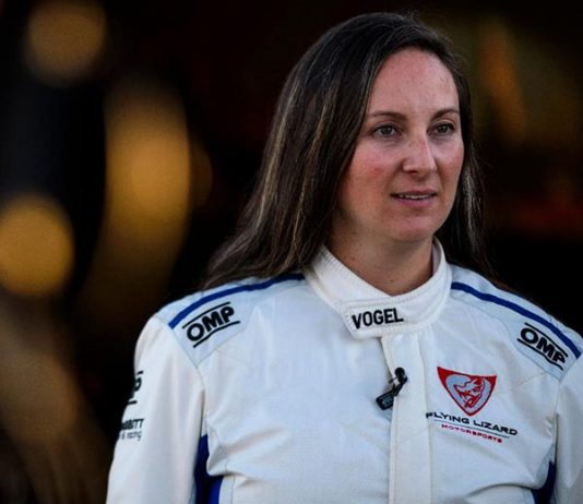 Erin Vogel will partner with Michael Cooper to chase the Pirelli GT4 America SprintX title.