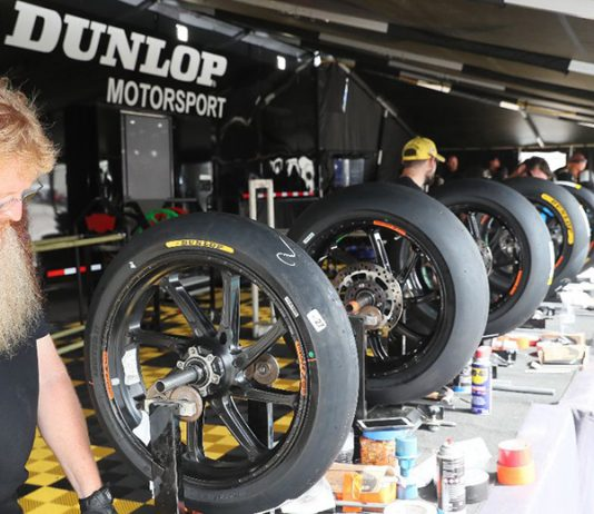 Dunlop will continue as the spec tire of the MotoAmerica Series in 2020. (Brian J. Nelson Photo)