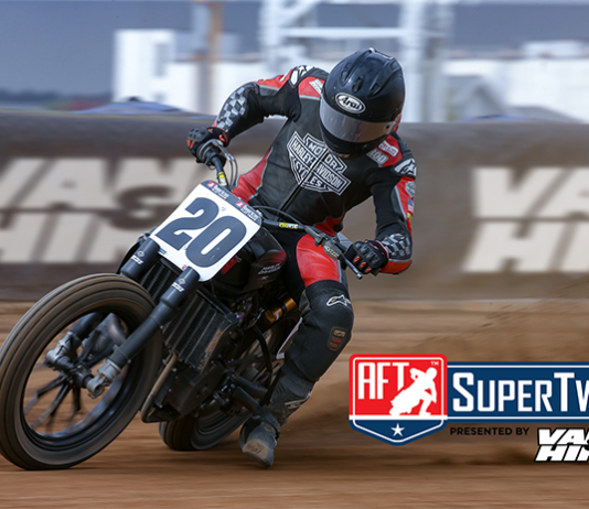 Vance & Hines will continue as the presenting sponsor of the American Flat Track SuperTwins division.