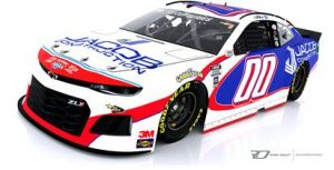 Jacob Construction will sponsor the No. 00 Chevrolet in a joint effort between StarCom Racing and Rick Ware Racing.