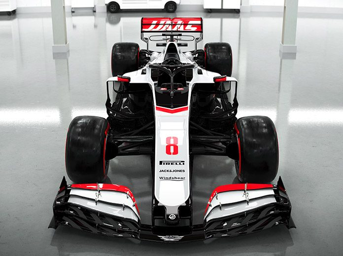 Haas Unveils Its VF-20 Racer For The 2020 F1 Season