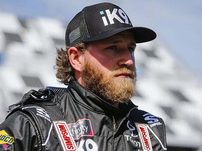 Jeffrey Earnhardt has joined JD Motorsports for select NASCAR Xfinity Series starts. (HHP/Barry Cantrell Photo)