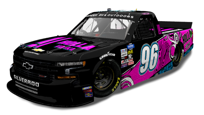 Holla Vodka will sponsor Todd Peck as he attempts to qualify for the NASCAR Gander RV & Outdoors Truck Series opener at Daytona Int'l Speedway.