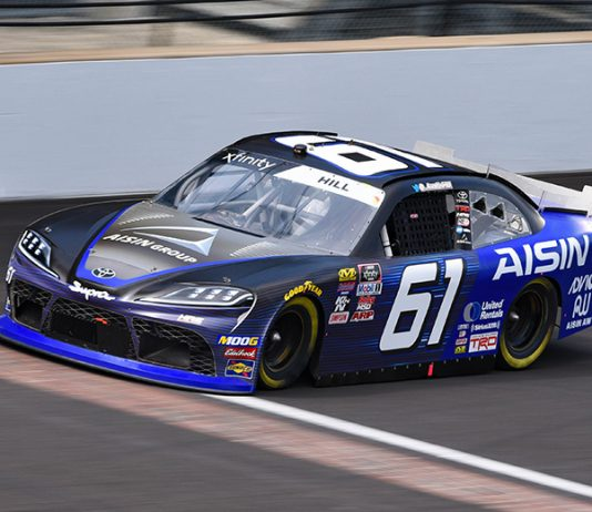 Hattori Racing Enterprises plans to enter select NASCAR Xfinity Series events this year. (IMS Photo)