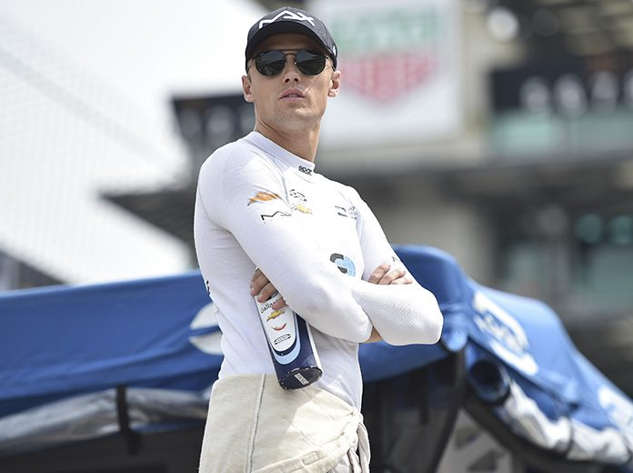 Max Chilton will race for Carlin on the road and street courses and the Indianapolis 500 in the NTT IndyCar Series. (IndyCar Photo)