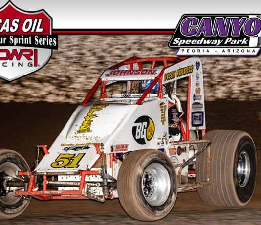 The POWRi Lucas Oil Border Tour Non-Wing Sprint Series will visit Canyon Speedway Park three times in 2020.