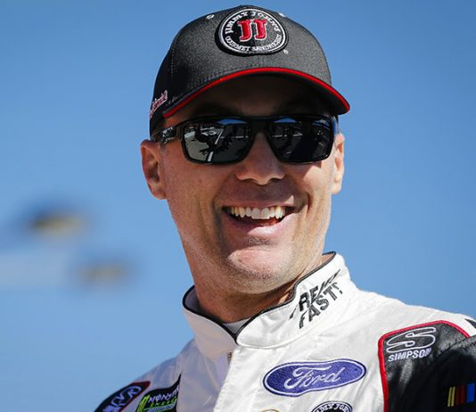 Kevin Harvick has signed a multi-year contract extension to remain with Stewart-Haas Racing. (HHP/Barry Cantrell Photo)