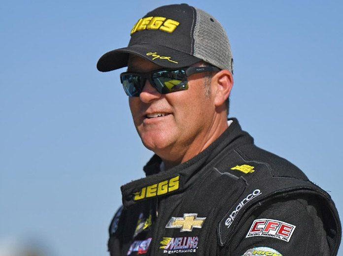 Jeg Coughlin Jr. will wrap up his full-time drag racing career following the 2020 season. (JEGS Photo)