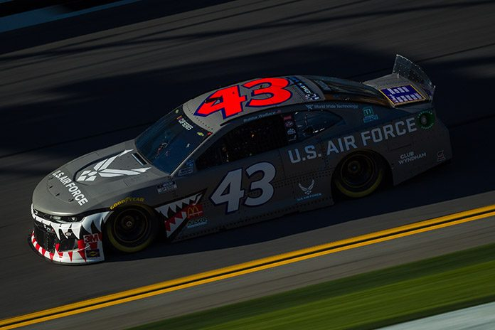 Ty Dillon Wallace Top Daytona 500 Practices Speed Sport
