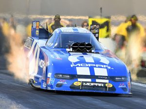 Matt Hagan topped the charts in Funny Car at Auto Club Raceway at Pomona. (Steve Himelstein Photo)