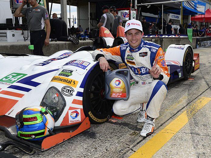 Colin Braun, shown here in 2016, has joined Era Motorsport. (IMSA Photo)