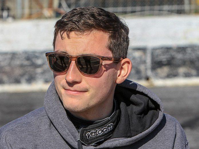 Derek Griffith will make his ARCA Menards Series East debut on Monday night at New Smyrna Speedway. (Adam Fenwick Photo)