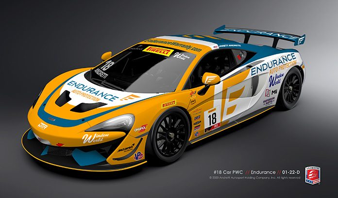 Endurance will continue to sponsor Andretti Autosport's No. 18 McLaren driven by Jarett Andretti.
