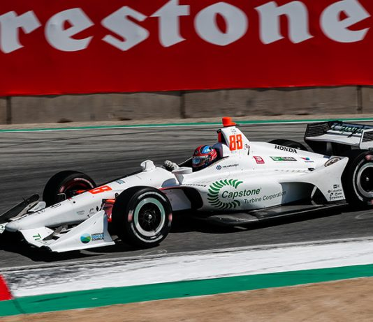 Capstone Turbine Corp. will continue to sponsor Colton Herta in the NTT IndyCar Series. (IndyCar Photo)