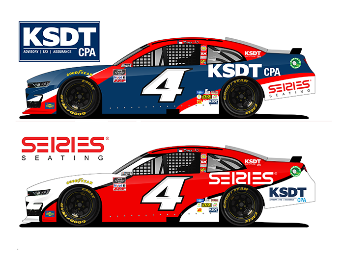 Kabat, Schertzer, De La Torre, Taraboulos & Co. and Series Seating will back JD Motorsports this year.