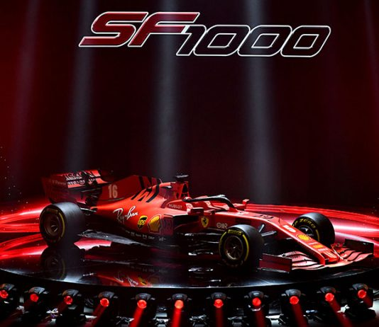 Scuderia Ferrari has revealed the SF1000 entry the team will field in the Formula One World Championship this year.