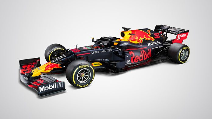Red Bull offers first glimpse of 2020 auto
