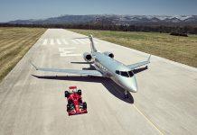 VistaJet will return as a sponsor of Ferrari this year.