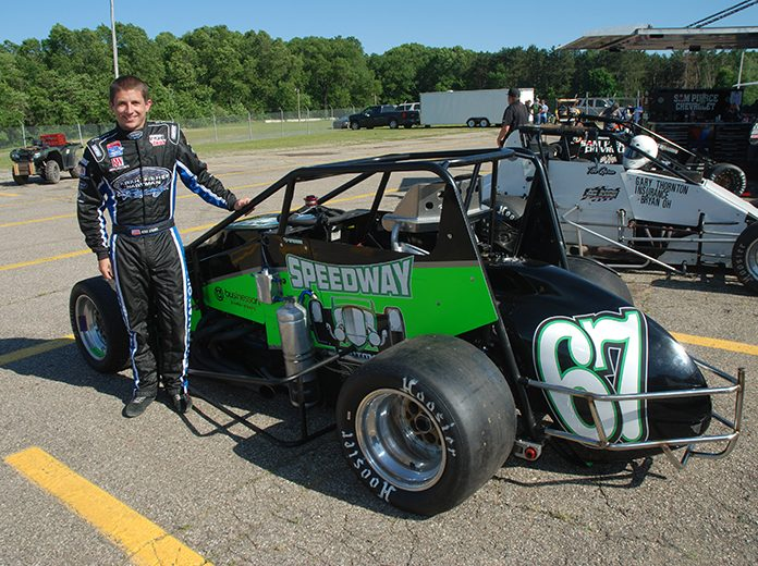 Kyle O'Gara is the latest entrant for the inaugural Dave Steele World Non-Wing Sprint Car Championship at Showtime Speedway in Florida. (David Sink Photo)