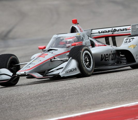 Will Power set the fastest time during NTT IndyCar Series testing Wednesday at Circuit of the Americas. (IndyCar Photo)
